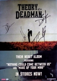THEORY OF A DEADMAN - 2002 - Promoplakat - Poster - plus Autogramme A