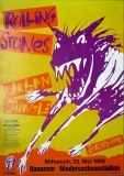 ROLLING STONES - 1990-05-23 - Plakat - Urban Jungle - Poster - Hannover (H)
