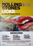 ROLLING STONES - 2003-06-00 - Plakat - Licks - Poster - München (3T)