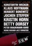 BENEFIZ - 1982 - Plakat - Konstantin Wecker - Klaus Hoffmann - Poster - Mainz