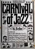 CARNIVAL OF JAZZ - 1975 - Plakat - Jazz - Papa Bue - Poster - Braunschweig