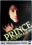 PRINCE - 1990 - Plakat - In Concert - Open Air Tour - Poster - Köln - B