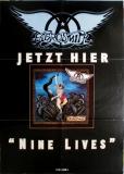 AEROSMITH - 1997 - Promoplakat - Nine Lives - Poster