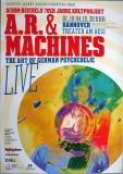 A.R. & MACHINES - 2018 - Konzertplakat - Achim Reichel - Tourposter - Hannover