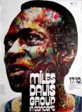 DAVIS, MILES - 1971 - Plakat - Günther Kieser - Poster - München