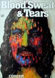 BLOOD SWEAT & TEARS - 1973 - Plakat - Günther Kieser - Tourposter