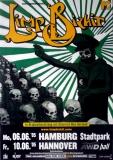 LIMP BIZKIT - 2005 - Plakat - In Concert - Tour - Poster - Hamburg - G