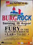 BURGROCK - 2005 - Plakat - Fury in the Slaughterhouse - Poster - Altena