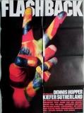 FLASHBACK - 1990 - Plakat - Rolling Stones - Jimi Hendrix - The Kinks - Poster