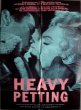 HEAVY PETTING - 1989 - Plakat - Elvis Presley - David Byrne - Monroe - Poster