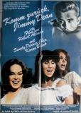 KOMM ZURÜCK JIMMY DEAN - 1983 - Plakat - Cher - Sandy Dennis - Poster