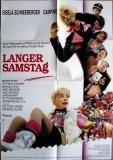LANGER SAMSTAG - 1992 - Plakat - Campino - Toten Hosen - Poster