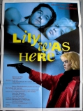 LILY WAS HERE - 1989 - Plakat - Dave Stewart - Eurythmics - Poster