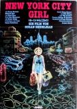 NEW YORK CITY GIRL - 1982 - Plakat - Richard Hell - The Feelies - Poster