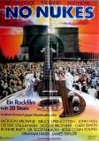 NO NUKES - 1979 - Plakat - Bruce Springsteen - Jackson Browne - Poster