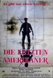 LETZTEN AMERIKANER, DIE - 1981 - Plakat - Ry Cooder - Poster