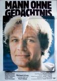 MANN OHNE GEDÄCHTNIS - 1984 - Plakat - Lucio Dalla - Poster