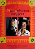 MEIN LEBEN IST DIE HÖLLE - 1991 - Plakat - Les Rita Mitsouko - Poster