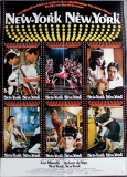 NEW YORK NEW YORK - 1977 - Plakat - Liza Minnelli - Robert de Niro - Poster