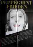 PEPPERMINT FRIEDEN - 1982 - Plakat - Konstantin Wecker - Poster
