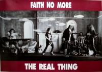 FAITH NO MORE - Plakat - The Real Thing - Poster