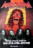 AIRBOURNE - 2016 - Plakat - Breakin Outta Hell - Poster