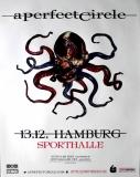 A PERFECT CIRCLE - 2018 - Plakat - Eat the Elephant Tour - Poster - Hamburg