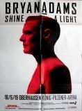 ADAMS, BRYAN - 2019 - Konzertplakat - Shine a Light - Tourposter - Oberhausen