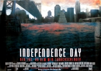 INDEPENDENCE DAY - 1996 - Filmplakat - Will Smith - Goldblum - Poster
