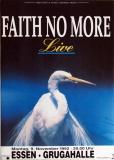 FAITH NO MORE - 1992 - Plakat - In Concert - Angel Dust Tour - Poster - Essen