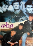 A-HA - XXXX - Plakat - Stay on these Roads - Potster