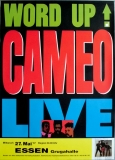 CAMEO - 1987 - Plakat - In Concert - Word Up Tour - Poster - Essen
