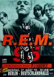 R.E.M. - REM - 1995 - Konzertplakat - Concert - PJ Harvey - Tourposter - Berlin