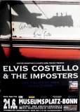 COSTELLO, ELVIS - 2005 - In Conncert - Poster - Bonn - Signed / Autogramm