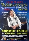 HODGSON, ROGER - SUPERTRAMP - 2019 - Poster - Hannover - Signed/Autogramm