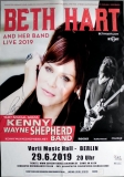 HART, BETH - 2019 - Poster - In Concert - Berlin - Signed / Autogramm