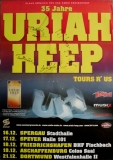 URIAH HEEP - 2005 - Poster - In Concert - Tours r Us - Signed / Autogramm