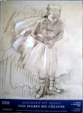ZEICHNEN IST SEHEN - 1996 - Degas - Ingres bis Cezanne - Poster - Hamburg
