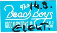 BEACH BOYS - 1989 - Pass - Good Vibrations Tour - Stuttgart