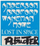 ANDERSON BRUFORD WAKEMAN HOWE - YES - 1989 - After Show Pass - Stuttgart