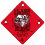 CLASH OF THE TITANS - 1990 - After Show Pass - Tour - Stuttgart