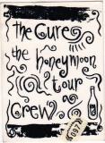 CURE, THE - 1987 - Crew Pass - Honeymoon Tour - Stuttgart
