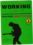 ADAMS, BRYAN - 1994 - Working Pass - Waking Up the World Tour - Stuttgart