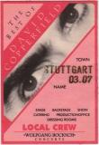 COPPERFIELD, DAVID - 1995 - Local Crew Pass - Best of Tour - Stuttgart - B