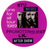 BEE GEES - 1989 - Promotor-Guest Pass - One for All Tour - Stuttgart