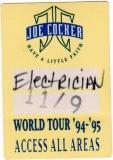 COCKER, JOE - 1992 - All Areas Pass - Have A Little Faith Tour - Stuttgart - A