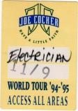 COCKER, JOE - 1992 - All Areas Pass - Have A Little Faith Tour - Stuttgart - B