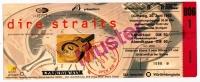 DIRE STRAITS - 1992 - Ticket - Eintrittskarte - Open Air - Stuttgart - Muster