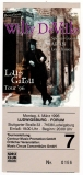 DE VILLE, WILLY - 1996 - Ticket - Eintrittskarte - Loup Garou - Ludwigsburg