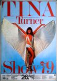 TURNER, TINA - 1979 - Plakat - In Concert - Show Tour - Poster - Essen